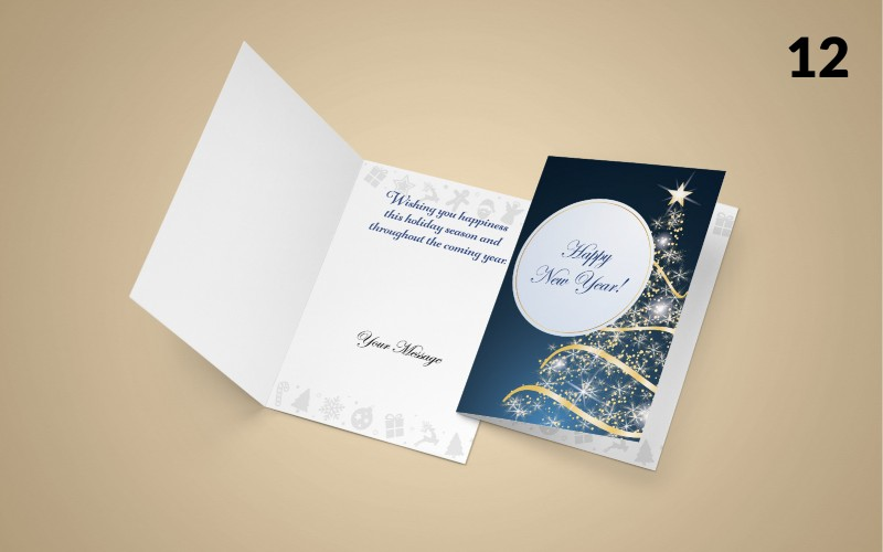 Holiday Promo:  Greeting Cards