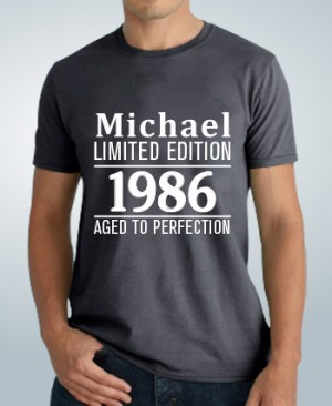 Birthday T-Shirt Limited Edition