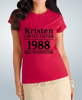 Birthday T-Shirt Limited Edition
